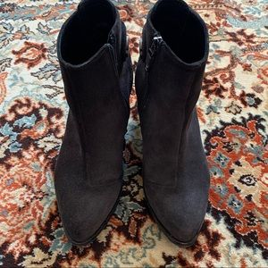 Alberto Fermani Charcoal Gray Booties